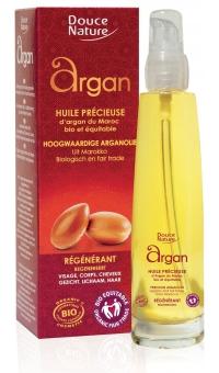 """БИО Масло """"Argan"""" для Лица, волос и тела, Douce Nature, 100мл"""