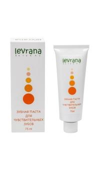 Зубная паста для чувствительных зубов, LEVRANA, 75 мл