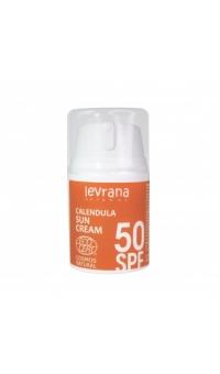 Солнцезащитный крем Календула, SPF50, Levrana, 50 мл