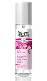 БИО дезодорант-спрей «Розовый сад» 24 часа  Lavera (Германия), 75мл