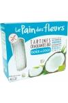 Хлебцы органические с кокосом (не содержат глютен), Le Pain des fleurs, 150 г