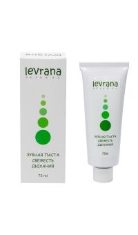 Зубная паста свежесть дыхания, LEVRANA,  75 мл
