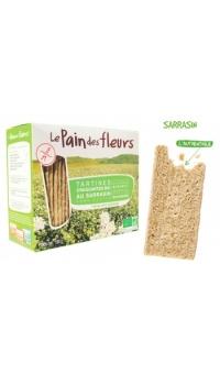 Хлебцы органические из гречки (не содержат глютен), Le Pain des fleurs, 150 г