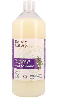 Жидкое Мыло «Марсельское» с эфирным маслом лавандина, БИО/Douce Nature, 1л