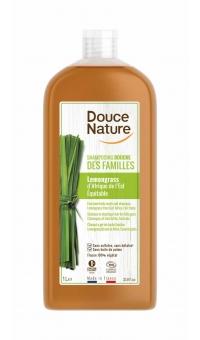 Органический шампунь для волос и тела с экстрактом Лемонграсса, Douce Nature, 1л
