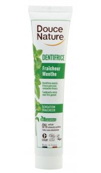 Органическая Зубная паста Мятная освежающая, Douce Nature,75 мл