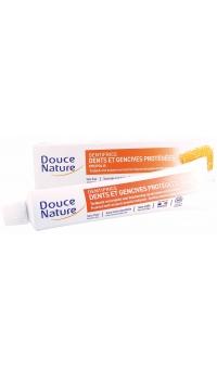 Органическая Зубная паста для укрепления с Прополисом, DOUCE NATURE, 75МЛ