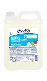 Экологическое Гипоаллергенное средство для стирки белья (2 в 1), ECODOO, 5л