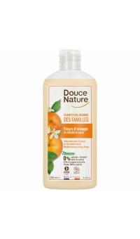 Органический шампунь для волос и тела с экстрактом Апельсиновых цветов, Douce Nature,250 мл