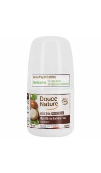 Органический Шариковый дезодорант с Маслом ШИ (Каритэ), Douce Nature, 50 мл