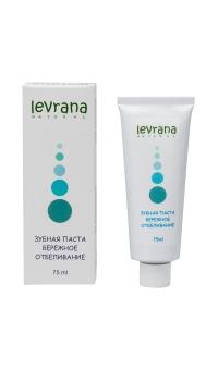 Зубная паста бережное отбеливание, LEVRANA, 75 мл