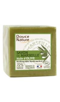 Органическое мыло «Марсельское» зеленое, Douce Nature,300г
