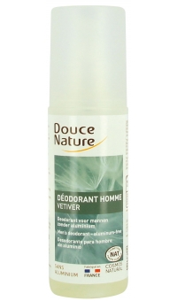 Дезодорант для мужчин с экстрактом ветивера, БИО/ Douce Nature, 125мл