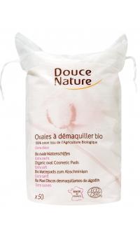 Диски ватные косметические, 100% хлопок, Douce Nature, 50шт