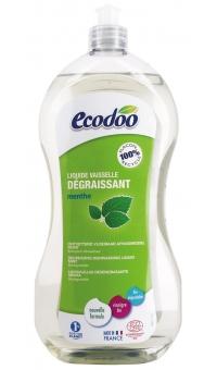 Экологическое Cредство для мытья посуды с уксусом, ECODOO,1л