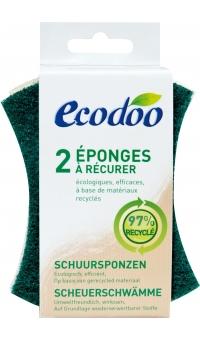 Экологические хозяйственные губки, ECODOO, 2шт