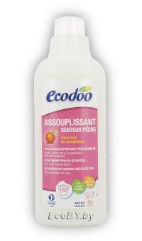 ЭКО Кондиционер для белья с ароматом персика, ECODOO, 750мл