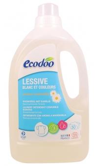Экологическое концентрированное жидкое средство для стирки белья с Ромашкой, ECODOO, 1.5л