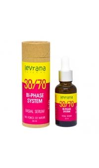 Двухфазная сыворотка для лица 30/70, с маслом Дамасской Розы,LEVRANA, 30мл