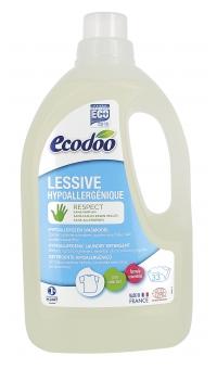 Экологическое Гипоаллергенное средство для стирки белья (2 в 1), ECODOO, 1,5л