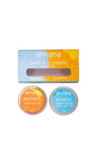 Скраб+органическое масло для губ, Levrana, 20мл