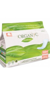Прокладки для рожениц для первых дней, Organyc, 12 шт