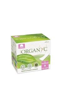 Прокладки на каждый день в индивид.упаковке одна капля, Organyc, 24 шт