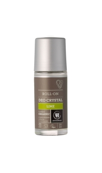 Шариковый дезодороант-кристалл Лайм. Urtekram, 50 мл, про-во Дания.