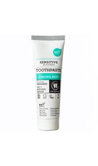 Зубная паста с сильным ароматом мяты,(для чувствительных зубов), Urtekram, 75 мл