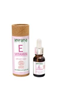 Сыворотка для лица Витамин E, растительный чистый антиоксидант, Levrana, 30мл