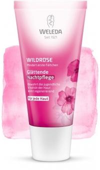 Розовый разглаживающий ночной крем,WELEDA, 30мл