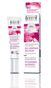 БИО гель для кожи вокруг глаз питательный  Lavera (Германия), 15мл